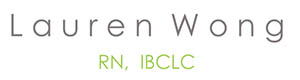 Lauren Wong IBCLC Logo